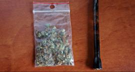 Dwie kobiety paliły marihuanę w parku Kościuszki