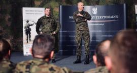 Generał Andrzejczak wśród żołnierzy WOT [FOTO]