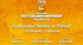 Siatkarskie gwiazdy przyjadą do Radomia na Klubowe Mistrzostwa Świata