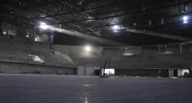 Postępy prac na hali widowiskowo-sportowej