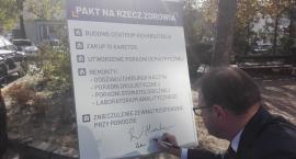 """Radosław Witkowski podpisał """"Pakt na rzecz zdrowia"""""""