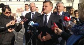 Marszałkowie Senatu wsparli Wojciecha Skurkiewicza [FOTO]