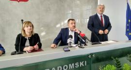 Starosta Radomski Mirosław Ślifirczyk podsumował inwestycje drogowe na terenie powiatu [FOTO]