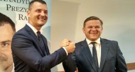 Rafał Czajkowski: Apeluję do moich wyborców, głosujcie na Wojciecha Skurkiewicza [FOTO]