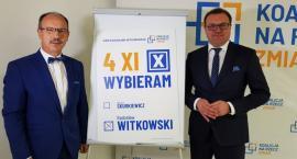 Ryszard Fałek poparł Radosława Witkowskiego