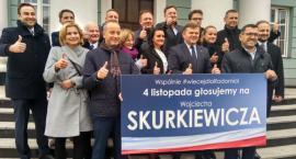 Wojciech Skurkiewicz i nowi radni PiS: Deklarujemy, że będziemy służyć mieszkańcom naszego miasta