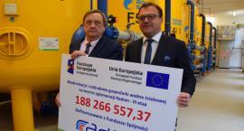 Obniżka opłat za wodę i miliony dotacji z UE