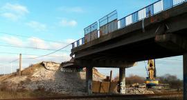 Zaczęła się rozbiórka wiaduktu na przebudowywanej alei Wojska Polskiego