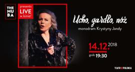 Transmisja monodramu Krystyny Jandy w sieci kin Helios! Wygraj wejściówkę! [KONKURS]