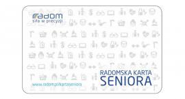 Duże zainteresowanie Radomską Kartą Seniora