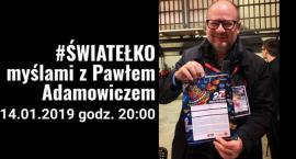 Światełko dla Pawła Adamowicza, prezydenta Gdańska