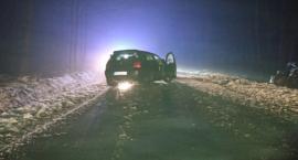Czołowe zderzenie pojazdów w Kozłowie
