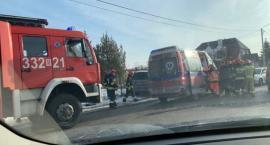 Wypadek na Sadkowie [FOTO]