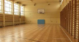 Sala gimnastyczna w Hubalu do remontu