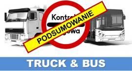 """Policyjne działania """"Truck & Bus"""" - podsumowanie"""