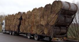 Za wysoki ładunek na ciężarówce