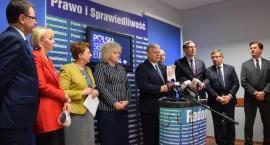 PiS zaprezentował kandydatów do Parlamentu Europejskiego na Mazowszu [FOTO]
