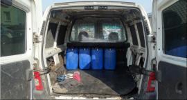 Złodzieje paliwa w rękach policjantów