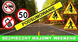Policja podsumowuje weekend majowy na radomskich drogach