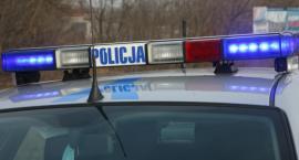 Włamywacz w rękach policjantów