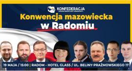 """Konwencja """"Konfederacji"""" w Radomiu. Robert Winnicki specjalnie dla nas!"""