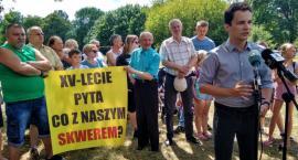 Osiedle XV-lecie. Co dalej ze skwerem u zbiegu ulic Bema, Jasińskiego i Sowińskiego? [FOTO]