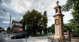 Kapliczka na ul. Limanowskiego odnowiona