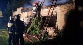 Pożar domu na Witosa
