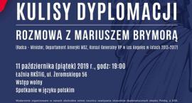 Kulisy dyplomacji - rozmowa z Mariuszem Brymorą w American Corner Radom