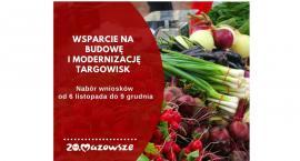 Ponad 8,4 mln zł na tworzenie targowisk
