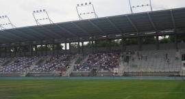 Stadion MOSiR z nowym oświetleniem