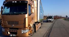 Kierowca ciężarówki z podrobionym zezwoleniem zatrzymany
