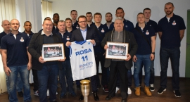 Prezydent pogratulował koszykarzom Rosy [FOTOGALERIA]