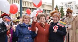 Patriotyczny pochód Polaków w Wilnie [GALERIA]