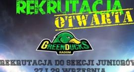 Rekrutacja do Green Ducks już we wtorek