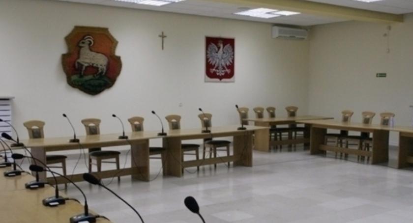 Samorząd, sesja Miejskiej Piasecznie - zdjęcie, fotografia