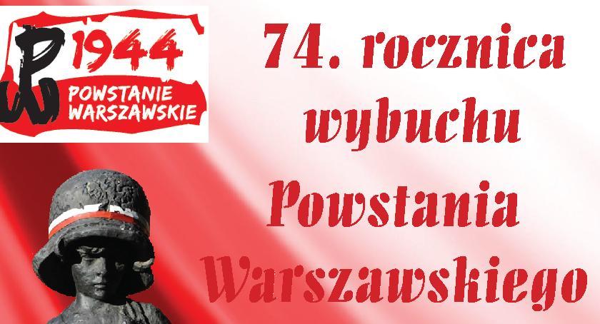 Edukacja, rocznica wybuchu Powstania warszawskiego - zdjęcie, fotografia