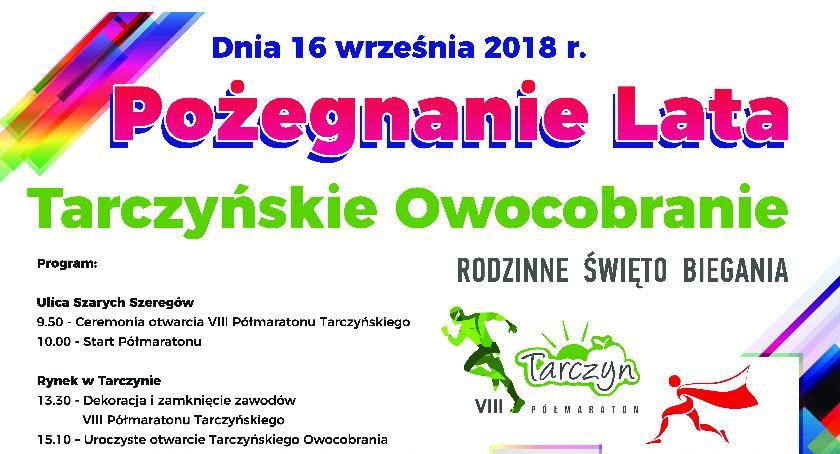 Rozrywka, Półmaraton Tarczyńskie Owocobranie - zdjęcie, fotografia