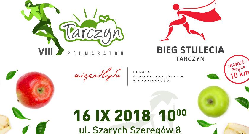 Biegi, Półmaraton Tarczyński - zdjęcie, fotografia