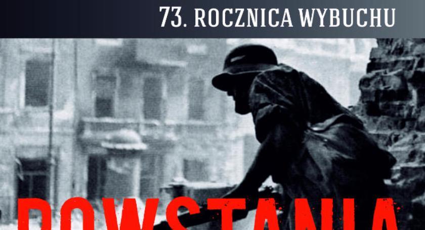 Sprawy lokalne, rocznica wybuchu Powstania Warszawskiego - zdjęcie, fotografia