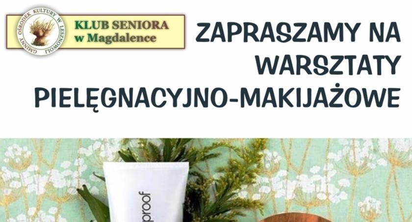 Kultura, Warsztaty pielęgnacyjno makijażowe Seniora Magdalenka 2017) - zdjęcie, fotografia
