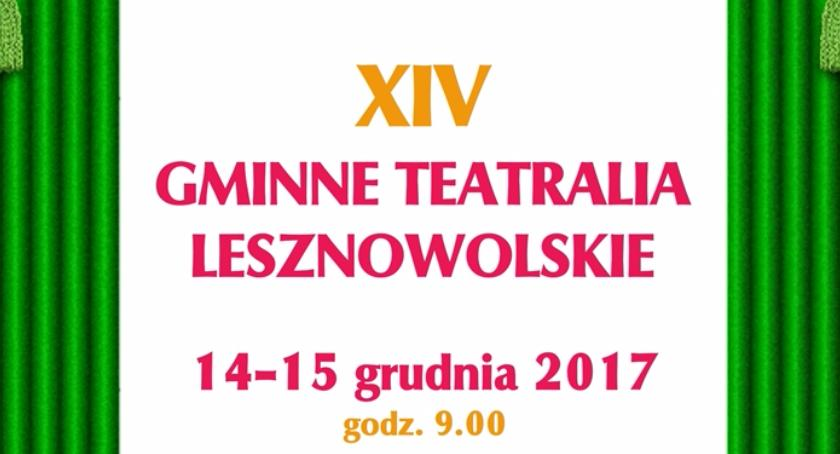 Teatr, Gminne Teatralia Lesznowolskie Mysiadło (14/12/2017 15/12/2017) - zdjęcie, fotografia