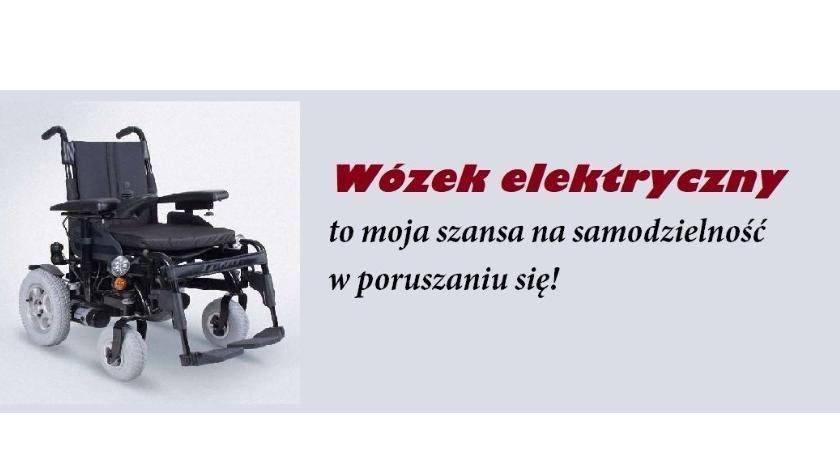 Sprawy lokalne, Zbiórka wózek elektryczny Urszuli Dudkiewicz - zdjęcie, fotografia