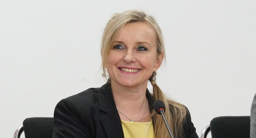 Radni Powiatu, Podziękowania Katarzyny Paprockiej - zdjęcie, fotografia