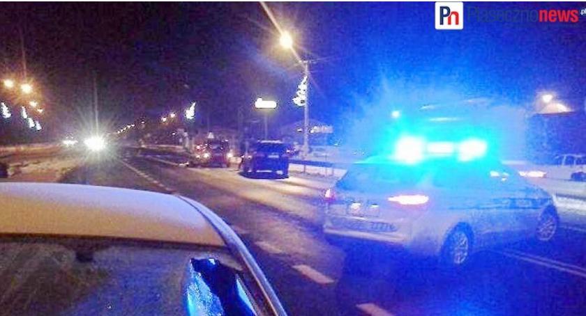 Kronika policyjna, Śmiertelny wypadek przejściu pieszych - zdjęcie, fotografia