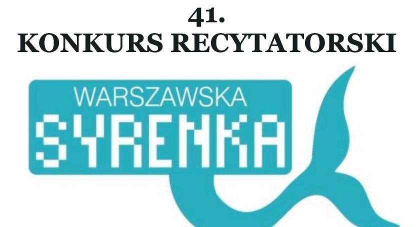 Konkurs, Konkurs Recytatorski Warszawska Syrenka 2018) - zdjęcie, fotografia