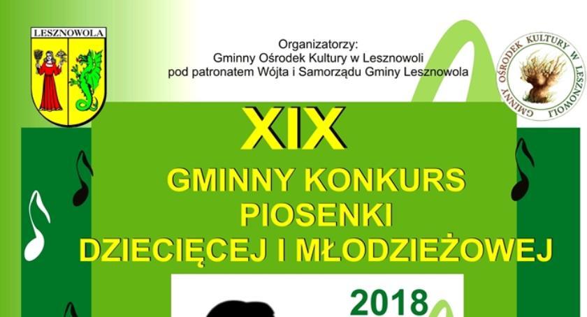 Koncerty, Gminny Konkurs Piosenki Dziecięcej Młodzieżowej (09/04/2018 10/04/2018) - zdjęcie, fotografia