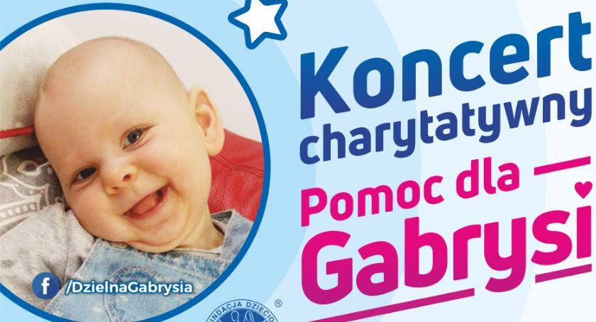 Sprawy lokalne, Koncert charytatywny Gabrysi - zdjęcie, fotografia