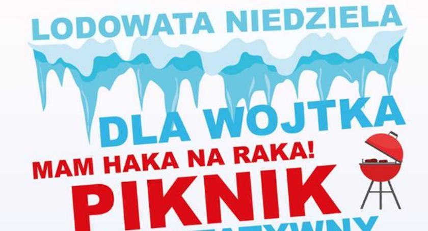 Pływanie, Lodowata niedziela Wojtka - zdjęcie, fotografia