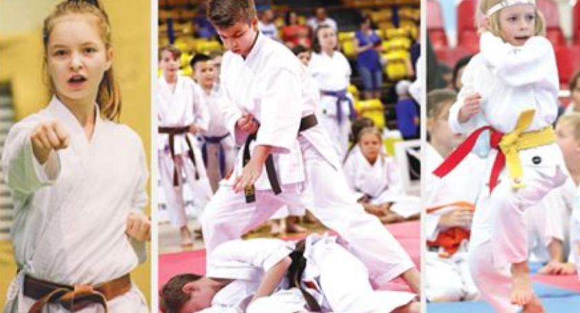 Lekkoatletyka, Puchar Mazowsza Karate Tradycyjnym - zdjęcie, fotografia